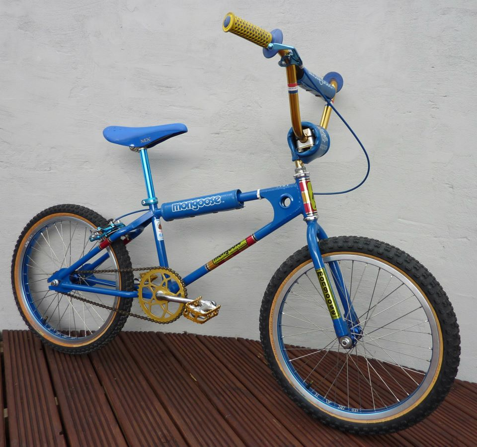 Chatworths Team Mongoose BMX