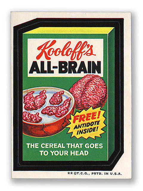 Wacky Packages All Brain