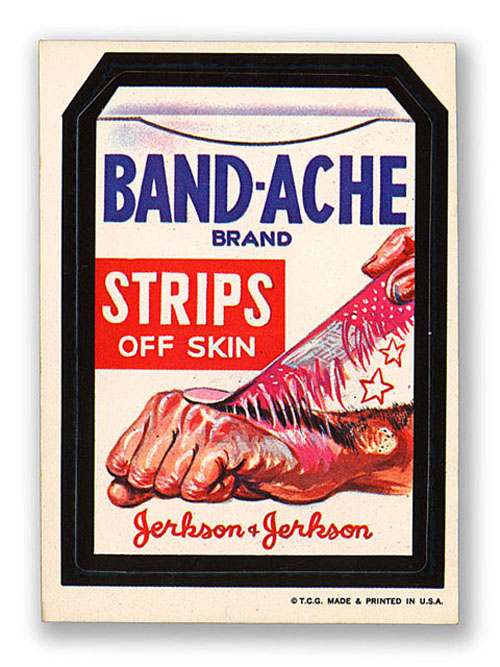 Wacky Packages Bandache