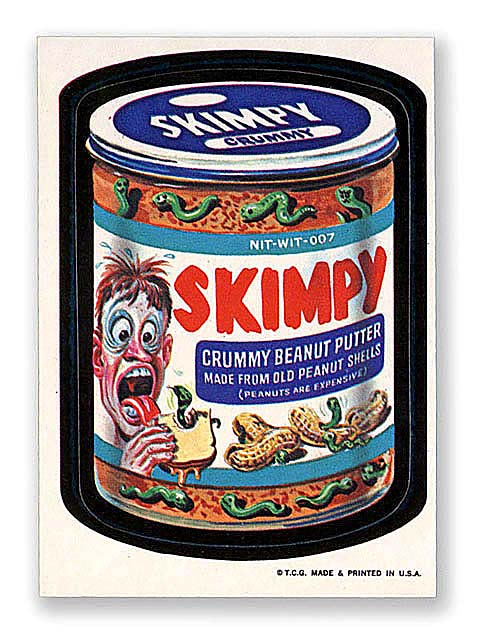 Wacky Packages Skimpy