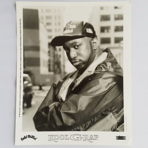 Kool G Rap Press Photo