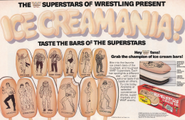 WWE Ice Cream Bar