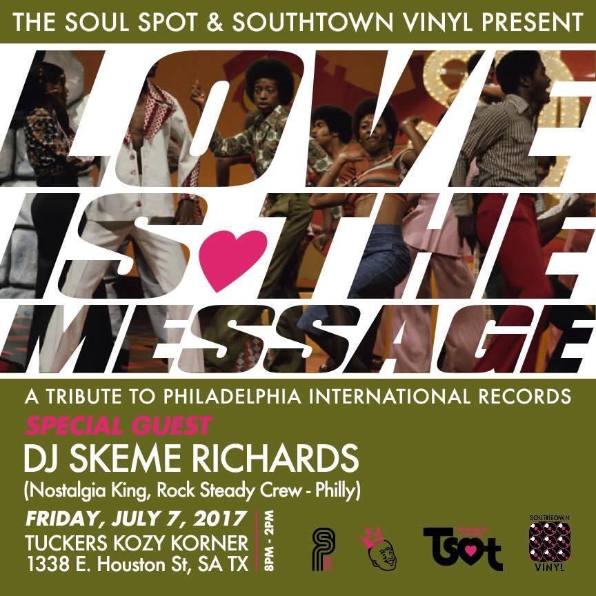 Skeme Richards In San Antonio Love Is The Message