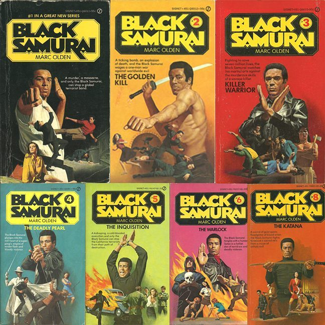 Mark Olden Black Samurai