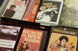 Kung Fu VHS