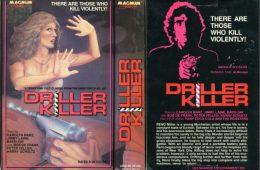 Driller Killer VHS