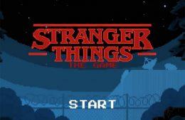 strange things 8bit