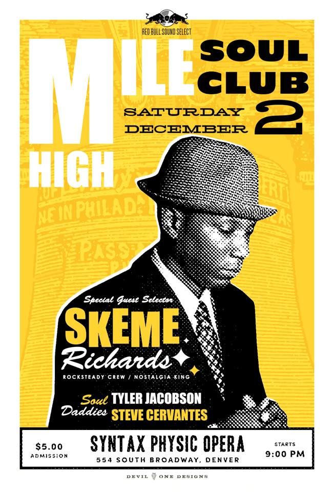 Skeme Richards Mile High Soul Club