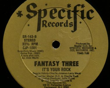 Fantasy Three Its Your Rock