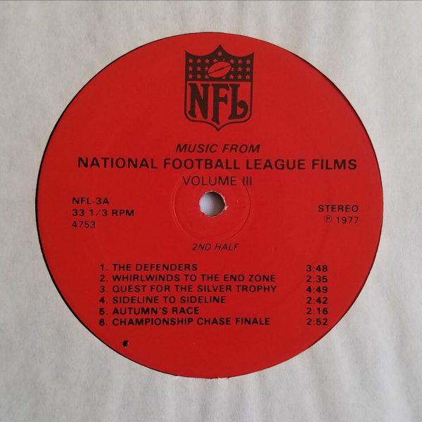 NFL Films III label
