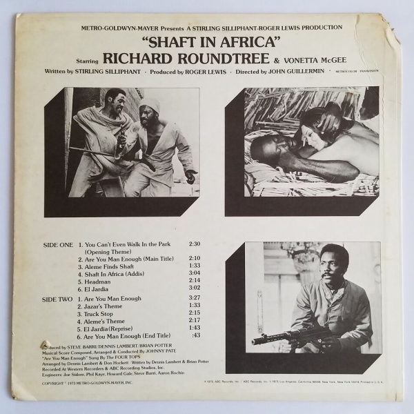 Shaft In Africa rear