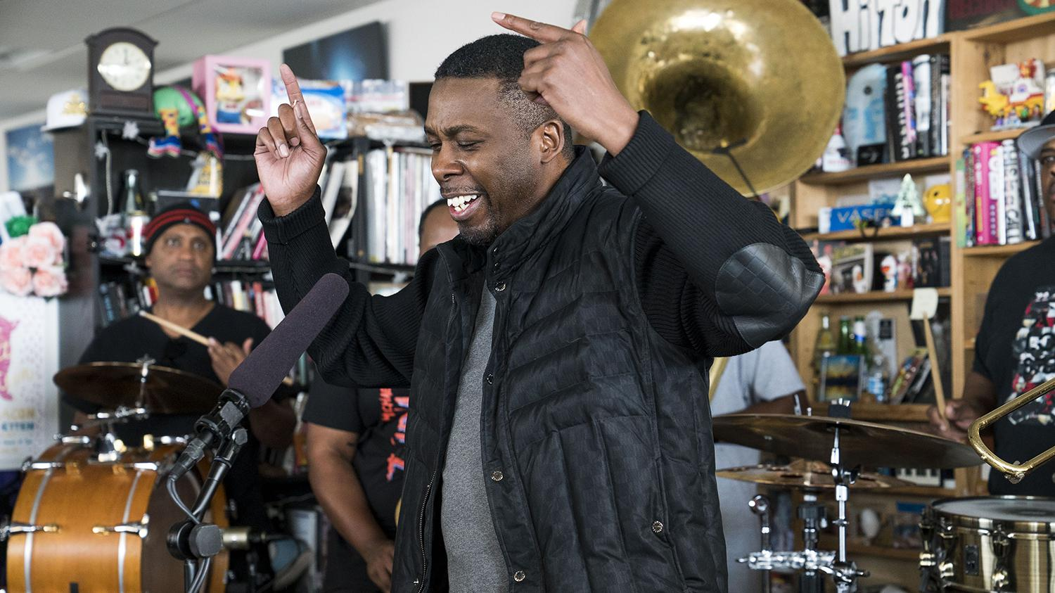 Gza Amp The Soul Rebels Tiny Desk Concert Nostalgia King