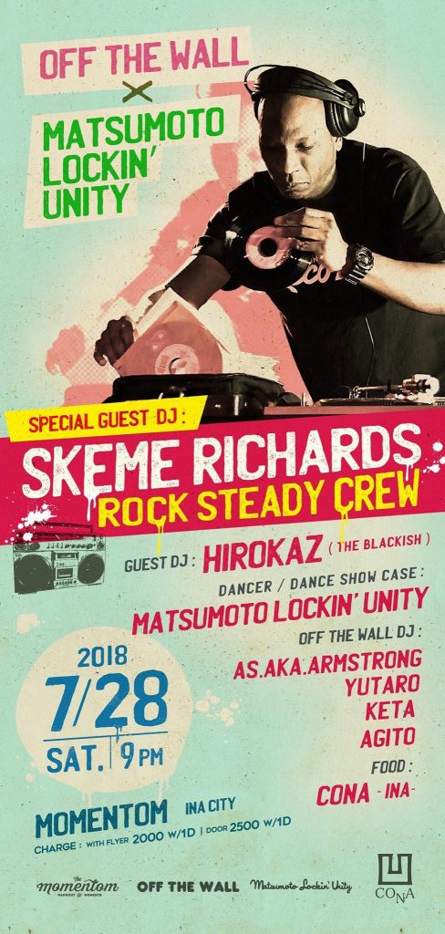 Skeme Richards Nagano