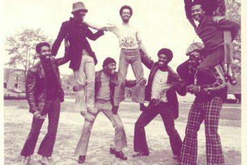 Cymande brothers on the slide