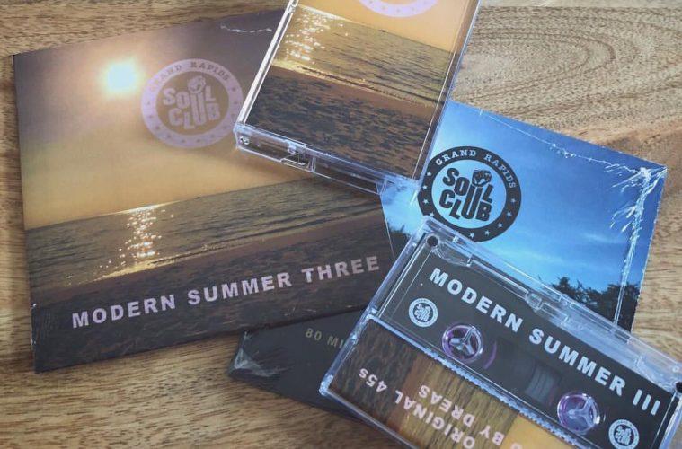 modern summer three