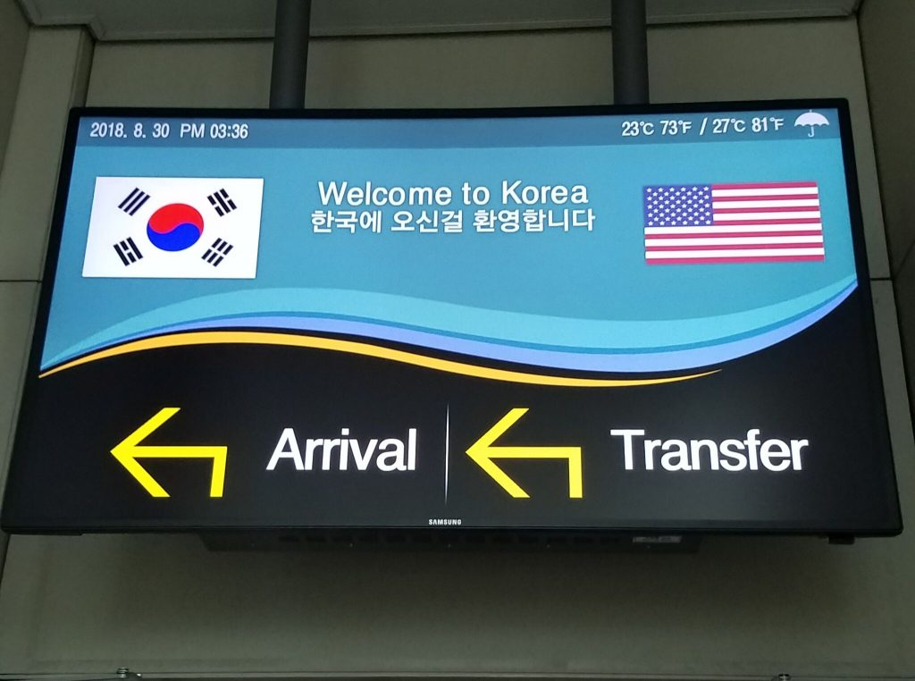 welcome korea