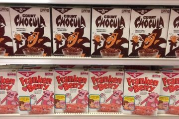 monsters cereal