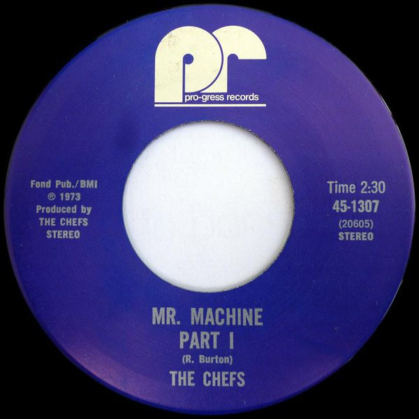 the chefs mr. machine