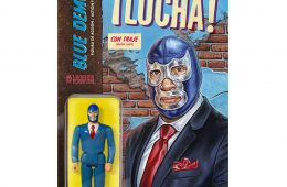blue demon suit card