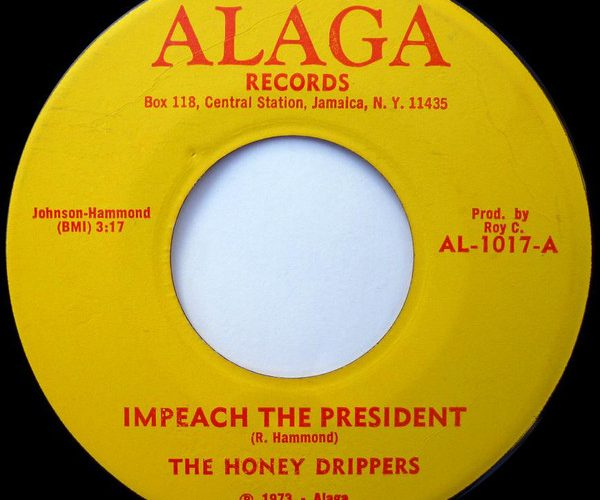 the honey drippers impeach