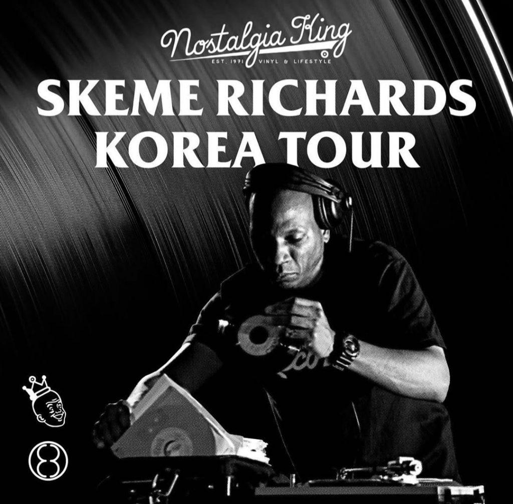 Skeme Richards Korea Tour 2019