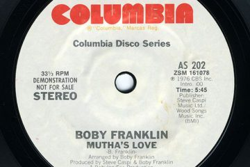 boby franklin mutha's love