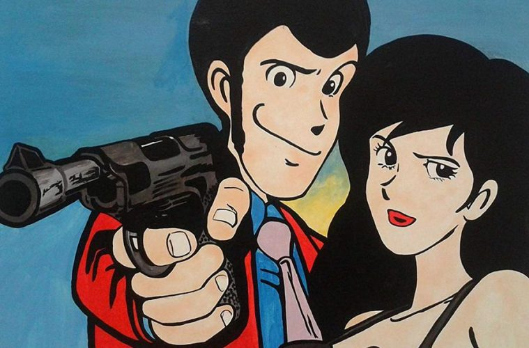 lupin-and-margot-comics-painting-lupin-iii-and-fujiko-mine-artista-fratta