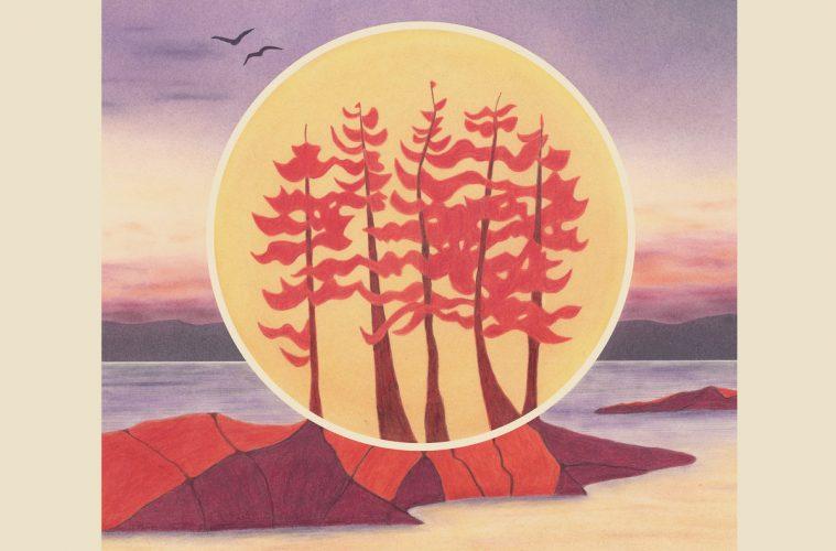 scarlet pines